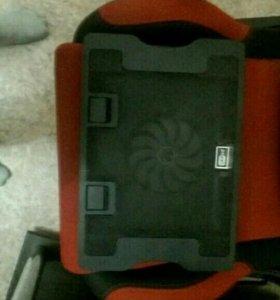 Охлаждающая подставка под 17 дюймовый ноутбук