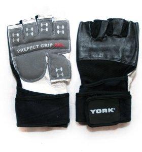 Перчатки атлетические York Fitness ML172