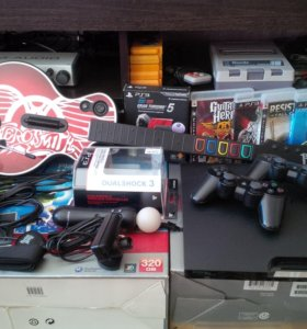 PS3 320gb Fullpack + Bonus