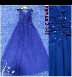 Платье-шифон