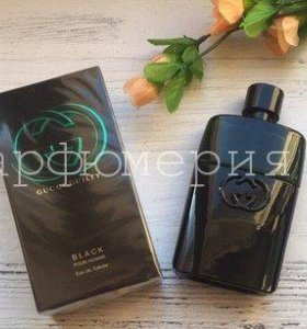 ПАРФЮМ Gucci Guilty Black pour homme 90 мл