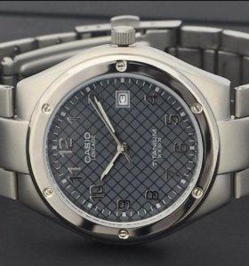 Титановые часы Casio