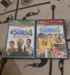 "Компьютерная игра ""The Sims 4""(два диска)"