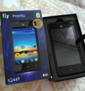 Смартфон Fly Pronto IQ449