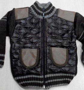 Новая курточка вязаная
