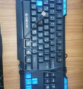 Мультимедийная USB клавиатура