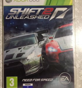 Игры на Xbox Диски на Xbox Need For Speed Shift 2