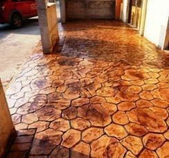 Полиуретановый штамп для бетона и гипса