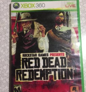 Игры на Xbox Диски на Xbox Red Dead Redemption