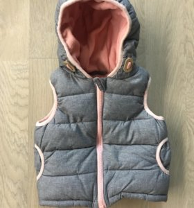 Утеплённый жилет