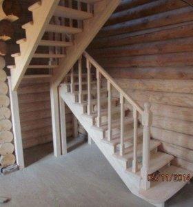 Деревянные Лестницы!!!