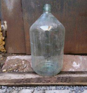 Стеклянный бутыль на 20 литров