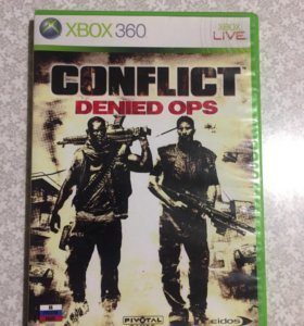 Игры на Xbox Диски на Xbox Conflict Denied OPS
