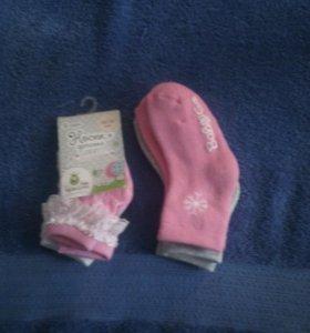 Носочки на девочку