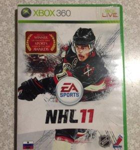Игры на Xbox Диски на Xbox NHL 11