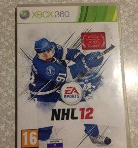 Игры на Xbox Диски на Xbox NHL 12