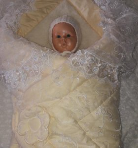 Конверт-одеяло на овчине