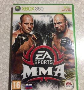 Игры на Xbox Диски на Xbox EA MMA