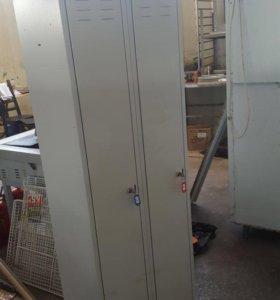 Шкафчики металлические