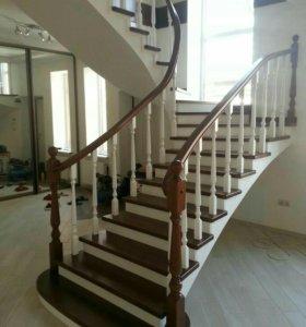 Лестницы из масива