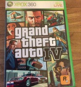 Игры на Xbox Диски на Xbox Grand Theft Auto 4