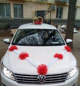 Свадебное украшение на машину!!!