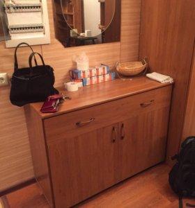 Мебель в прихожую (тумба и шкаф)