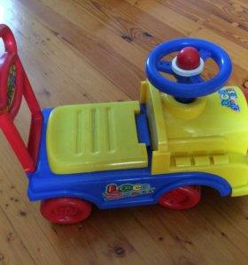 Каталка паровоз