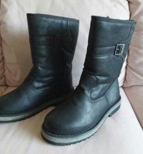 Зимние ботинки муж 41 р