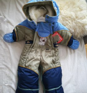 Детский зимний комбинезон (новый, размер 80)