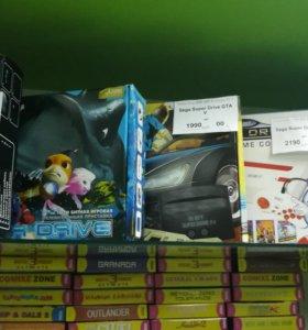 Sega mega drive 2 новые (Разные комплекты)