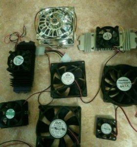 Компьютерные вентиляторы
