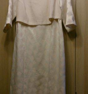 Платье 52 размер б/у 1 раз