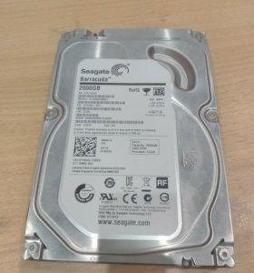 Жёсткий диск Seagate на 2TB