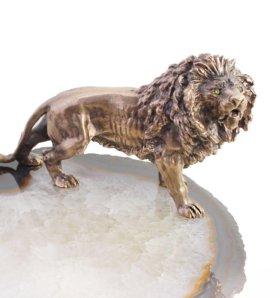 Подарок для лидеров - Король прайда бронза агат