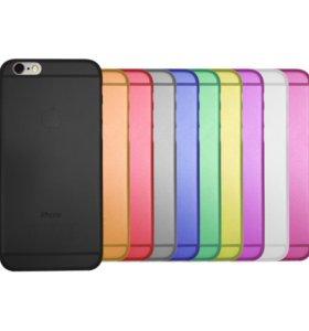 Ультратонкий чехол iPhone 6/6s (полипропилен)