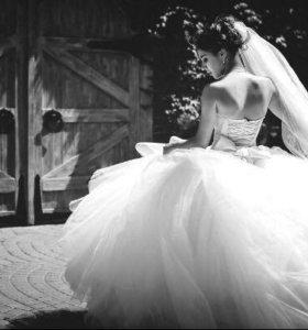 Роскошное Свадебное платье 👗