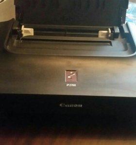Струйный принтер Canon pixma ip2700 без картриджа