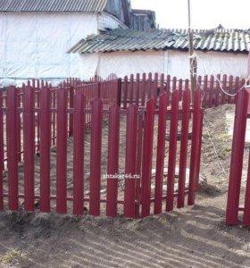 Штакетник от производителя в Боброве
