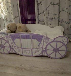 Кровать «Карета» с бортиками