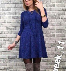 Синие платье 💙 H&M