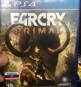 Диск ps4 :farcry 4; farcry primal