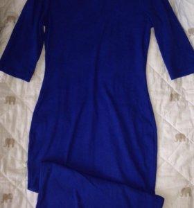 Новое платье в рубчик