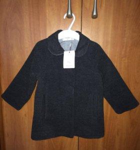 Пальто новое для девочки, Mango