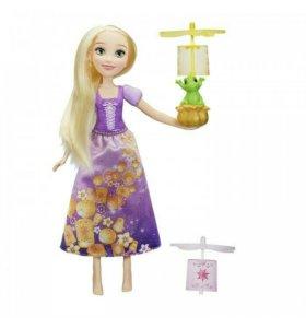 Кукла Рапунцель и плавающие фонарики