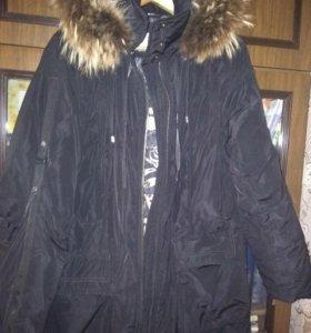 Куртка утепленная 56 р