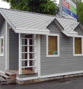 Мобильные домики для отдыхающих