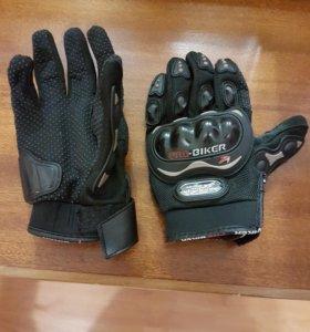 перчатки мотоциклетные  L