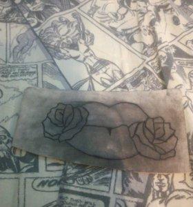 Искусственная кожа для татуажа