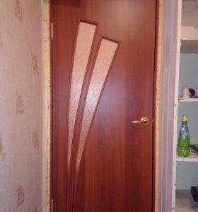 Новая межком. дверь с обналичкой